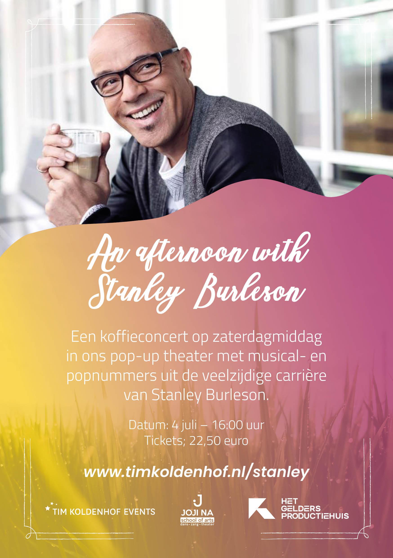 Koffieconcert Stanley Burleson